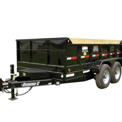 Call 780-831-0063 to rent this 6.9 x 14 Dump Trailer today!