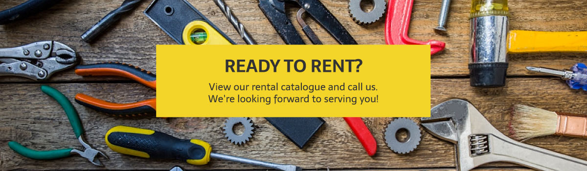 Tool Rentals in Sexsmith & Grande Prairie
