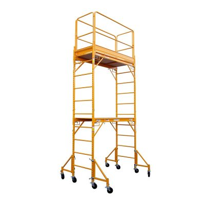 Call 780-831-0063 to rent this 12′ Drywall Scaffolding today!