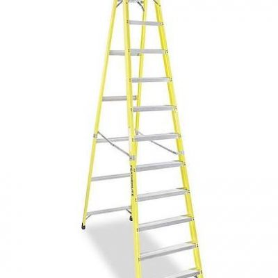 Call 780-831-0063 to rent this 12ft Fiberglass Step Ladders today!