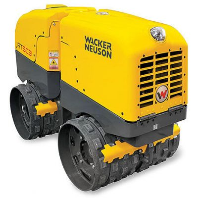 Call 780-831-0063 to rent this Trench Roller today!