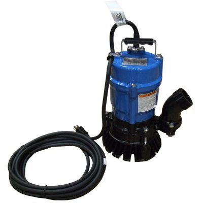 Call 780-831-0063 to rent this 2″ Electric Submersible Trash Pump today!