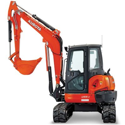 Call 780-831-0063 to rent this U55 Compact Excavator today!