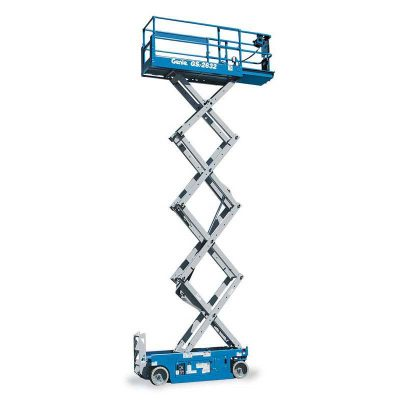 Call 780-831-0063 to rent this Electric Slab Scissor Lift today!