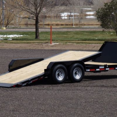 Call 780-831-0063 to rent this 22′ Partial Tilt Deck today!