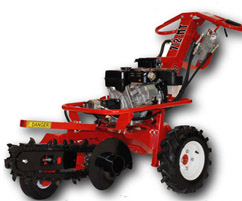 Call 780-831-0063 to rent this 18″ Walk Behind Trencher today!